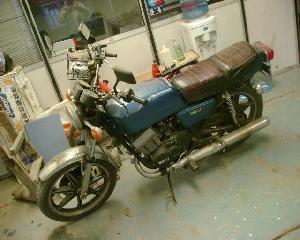 Yamaha 400 rd Usado 1979